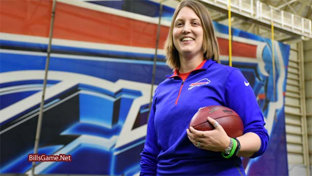 Bills as NFL's First Female Coach