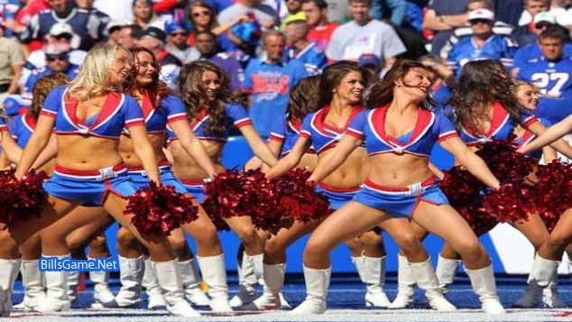 Buffalo bills Beautiful Cheerleaders 2016