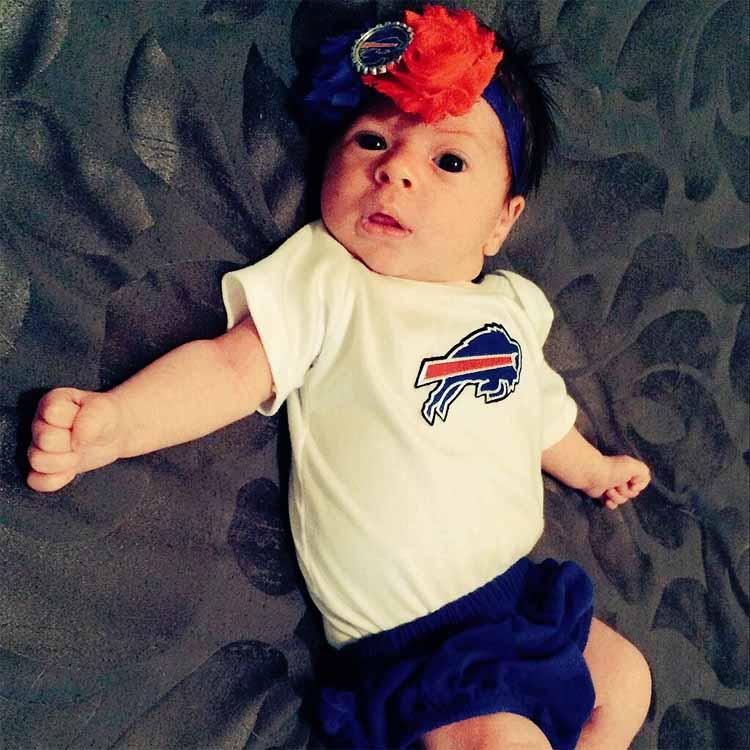 Baby girl bills fans 3