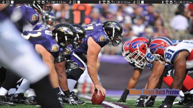 Buffalo Bills vs. Baltimore Ravens Match Preview 2016 Week 1