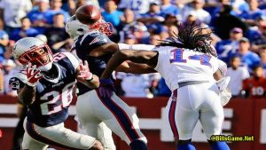 New England Patriots at Buffalo Bills Rivalry