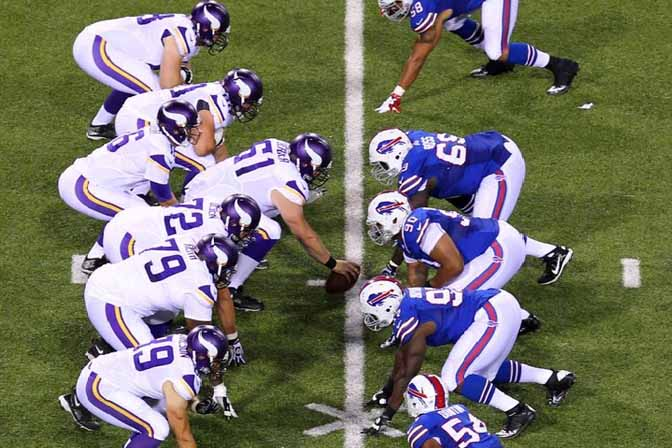 Vikings vs Bills Preseason 2017