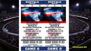 Buffalo Bills Tickets 2017